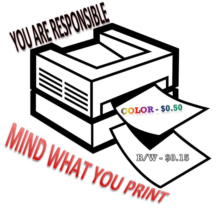 Mind what you print