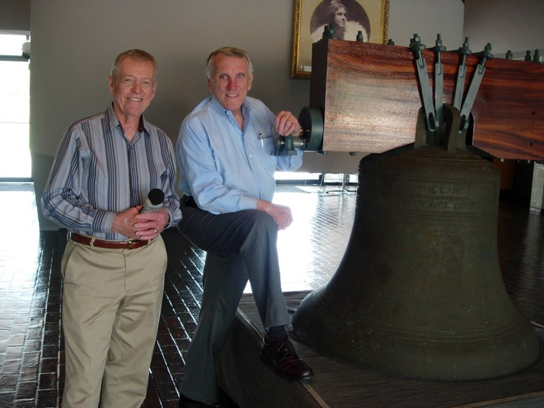 Bill Buchanan and Tumbleweed Smith and the Liberty Bell