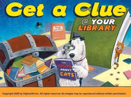 Get a clue at your library