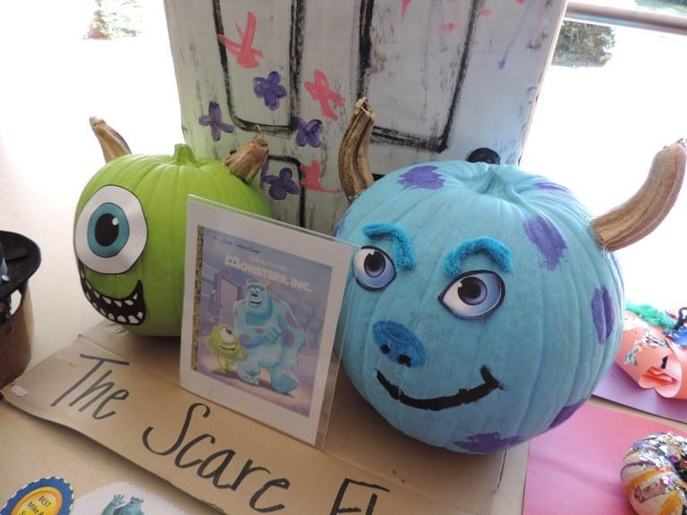 Monster Inc. Pumpkins