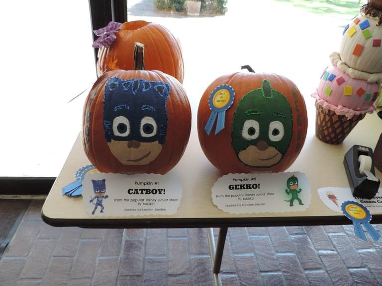 PJ Mask Pumpkins