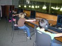 LEAPS students learning at the library