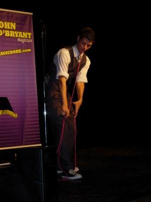 Magician John O' Bryant